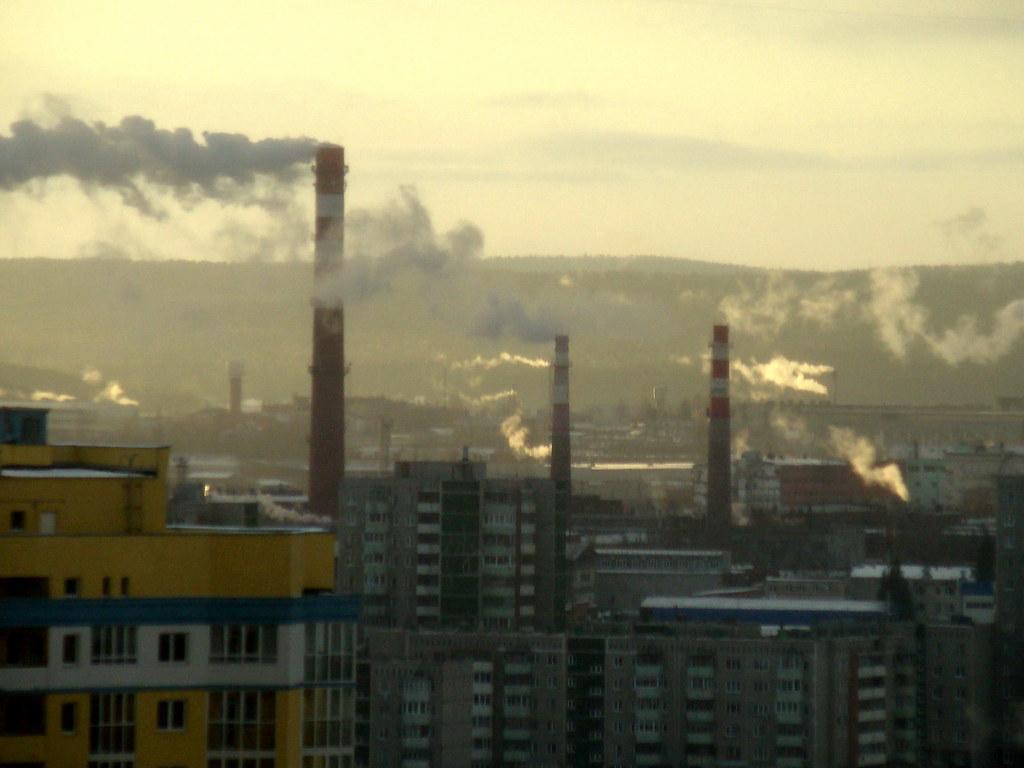 фото: Вторчермет дымящий