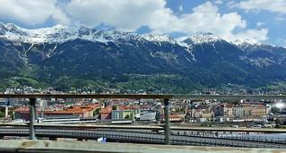 auf dem Weg nach Italien sind wir auch durch Innsbruck gekommen