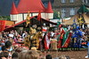Hail to the king (Chronur) Tags: medieval jousts tournament knights fight lanzenstechen kampf tunier ritter spectakulum schlosbroich mülheim mülheimanderruhr mittelalter pferd reiten horse riding