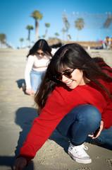 _DSC0343 (KingCamification) Tags: sandiego california 28 missionbay missionbeach beach sand sunlight tania sandwriting sunglasses