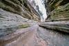 A Fisheye View out of French Canyon (mjhedge) Tags: frenchcanyon canyon starvedrock rockformation illinois oglesby uttica fuji fisheye fujifilm xt1 fujifilmxt1 8mm rokinon