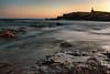 Couchant au Gaou (Nat_L2_photographies) Tags: gaou ile var sixfours paca vénus statue couchant sunset coucher de soleil eau méditerrannée pose longue longexposure
