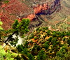 Falling into Space (austexican718) Tags: grandcanyon arizona landscape canyon desert nationalpark perspective pointofview compact sony cloud trees travel southwest usa cliff mesa river ngc