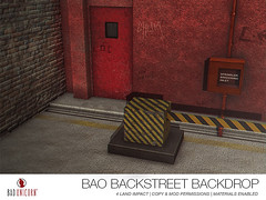 NEW! Bao Backstreet Backdrop (Bhad Craven 'Bad Unicorn') Tags: • bhad craven second 2l life lindens profile picture photography bad unicorn badunicorn clothing buc bu secondlife graphics gfx graphic design photos pics photo sl urban mesh exclusive store blog shadows high quality production portrait image hd definition original meshes meshed 3d game characters art gaming concept concepts new top work progress wip hypebeast hype beast bae back drops backdrops cool city pink basketball pillars graffiti