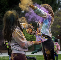 Gulal: The Throwing of Colored Powders (Greatest Paka Photography) Tags: holi festival celebration fostercity color powder hindu tradition gulal sanmateocounty people