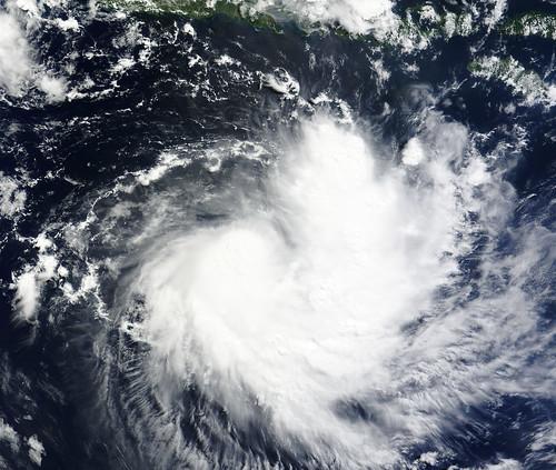 Tropical Cyclone Sean Near the Lesser Sunda Islands,