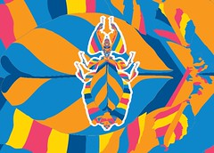 besouros juntos-23 (Allan Rodrigo) Tags: besouro besouros beetle psicodelia animação artevetorial artedigital vetor vector illustration color mushroom lsd