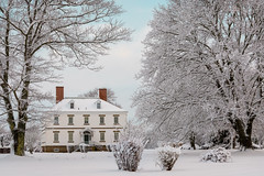 prescott house (Port View) Tags: fujixe3 portwilliams novascotia canada cans2s 2018 winter fresh snow snowfall prescotthouse history historical morning trees