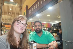 couple (luandacalado) Tags: couple brother hermano cunhada people white casal mujer man hombre mercado publico sp br