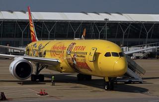 Hainan Airlines / Boeing 787-9 Dreamliner / B-7302