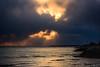 怪しい空ーThe strange sky (kurumaebi) Tags: yamaguchi 秋穂 nikon d750 nature 自然 landscape 海 sea 夕焼け dusk 波 wave cloud 雲chi