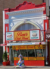 Ben's Chili Bowl, Washington, DC (Robby Virus) Tags: washington dc districtofcolumbia bens chili bowl food ben virginia ali restaurant heartburn dogs burger smokes landmark