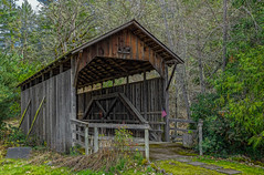 Lost Creek Covered Bridge--DSC08269--Eastern Jackson County, OR (Lance & Cromwell back from a Road Trip) Tags: lostcreek coveredbridge roadtrip jackson county oregon historic sony a77ii 1650mm 2018