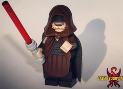 Did you ever hear the tragedy... (Saber-Scorpion) Tags: lego minifig minifigure minifigures moc starwars starwarslego legostarwars palpatine emperor sith sidious sheev darth