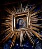 """""""Virgin Mary with Child"""" - fresco 14th century - Santi Vincenzo e Anastasio Church in Rome (Carlo Raso) Tags: virginmary fresco santivincenzoeanastasiochurch rome"""