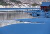 hangar rouge (mimu_13) Tags: europe no nor norway troms tromsfylke tromso givre glace hiver neige paysage saisons vinter winter samsungnx nx500 continentsetpays norvège tromsø météo météorologie