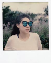 instant film (La fille renne) Tags: film instantfilm polaroid portrait lafillerenne polaroidsx70alpha sx70 analog misslouise impossibleproject impossiblesx70color