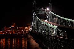 Liberty Bridge (Valantis Antoniades) Tags: liberty bridge budapest hungary architecture river danube
