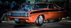 MOTORAMA 2018 (TONY VIKLICKY) Tags: challenger rt dodge muscle blower drive 871 modified old cars restored viklicky tony nikon fx
