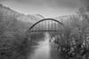 The Bridge (Jeff Damron) Tags: snow bridge prestonsburg kentucky bigsandyriver