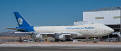 Oldest flying 747 (SBGrad) Tags: 2018 50mmf18d 747 747400 alr boeing d300s ge9x generalelectric kvcv nikkor nikon victorville airport prime n747ge 747100 n744pa