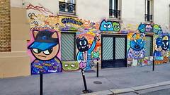 445 Paris en Février 2018 - rue Bichat (paspog) Tags: paris france tags graffitis mural murals fresque fresques février februar february 2018 ruebichat