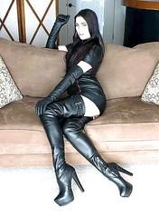 (vujo1017) Tags: women boot boots fetish fetische stiefel leather leder lady legs strict strickt heels