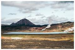 Reykjahlíð, Iceland (Bigmob Dontwannastop) Tags: reykjahlíð iceland volcan lake hot spring geothermal energy subterranean hill water nature landscape