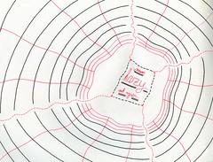 Answer Hazy, Ask Again..... (Daniel Ari Friedman) Tags: danielarifriedman daniel friedman art draw drawing ink paper pen black freehand 8ball eight ball answer hazy ask again future fortune telling