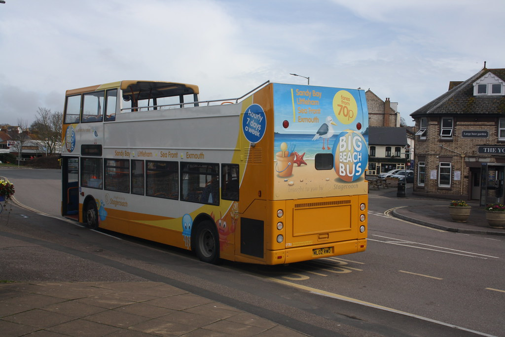 The Big Beach Buses back (lazy south's travels) Tags: exmouth east devon  england