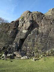 vs 4c outdoors (squeezemonkey) Tags: northwales snowdonia winter castlestafftrip tremadog tradclimbing climbing outdoors climbers doleriterock craigpantifan uppertier crag toproping rock