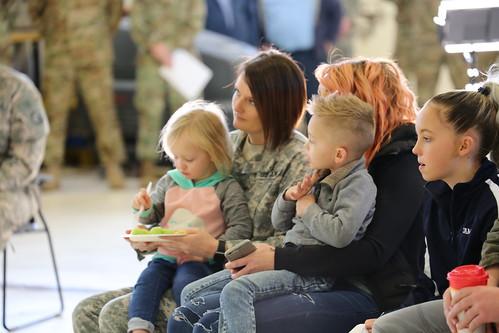 C Co., Det. 4, 2nd Battalion, 641st Aviation Regiment departure ceremony 1-2-2018