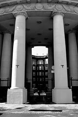 DSCF0077b_jnowak64 (jnowak64) Tags: poland polska malopolska cracow krakow krakoff architektura historia kamienica wiosna mik bw