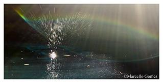 Cave Water Splashing @Devil's Den (best seen large)
