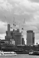 Southbank Place - 23.3.18 (Ryan Trower Photography) Tags: skyscrapers london nikon d5300 architecture construction black white building structure skyscraper lines sky monochrome geometric city urban street tower facade concrete glass towers photography architect architects residential commercial sigma samyang southbank southbankplace londonsouthbank variousarchitects