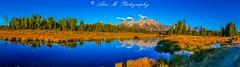 Schwabacher Landing at Grand Teton (The Happy Traveller) Tags: sunrisesunset scenery sceniclandscapes grandtetonnationalpark wyoming usnationalparks