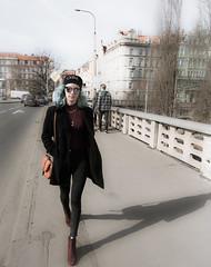 Daughters / Hijas (toncheetah) Tags: street prague praha girl daughter city bridge walk streetstyle spring