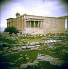 acropolis2 (Caroline Bonarde Ucci) Tags: acropolis greece athens holga 120mm film lanscape ancient dreamscape