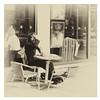 280 of Year 4 - Spring sun coffee (Hi, I'm Tim Large) Tags: spring summer sun sunshine coffee costa seated tables chairs monochrome blackandwhite textured nik 280 365 fuji fujifilm xf xpro2 f14