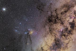Júpiter, Marte, Rho Ophiuchi y Scorpius v2.jpg