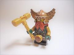 "Grand Paladin Helorn Grens (Nick ""Nightstalker"") Tags: afol brickwarriors saberscorpion lego brickforge"