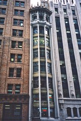 San Francisco  California  - The Skinniest Building - The Narrow Building (Onasill ~ Bill Badzo) Tags: financial district cbd nrhp san francisco ca california skinniest skinny building narrow architecture gothic heineman 130 bush st belt tie factory suspenders register style artdeco charming shell walking tour onasill downtown historic old vintage photo