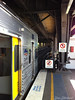 End of the line (Dude who takes photos of stuff) Tags: desta destaone flag sydneyferries dazstockwell art camera photography sydney cityrail platform trains circu arquay