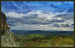 Non tutto e vero... ma quasi vero - Marzo-2018 (agostinodascoli) Tags: paesaggio panoramica landscape nuvole cielo cianciana sicilia texture nature paesaggi alberi photoshop photopainting art digitalart digitalpainting creative impressionismo