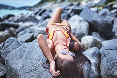 Bethania (alcure85) Tags: ifttt 500px portraits • earthportraits portraitmood portraitpage igpodiumportraits discoverportrait majesticpeople profilevision portraitshots kdpeoplegallery inked bikini beachgirl theportraitpr0ject bravogreatphoto ink beach praia red brunette rocks stones ocean