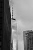 One World Trade Center (mathieunigay) Tags: nyc newyork city usa america street winter travel holidays lost getlost bloc art nb noiretblanc bw blackandwhite architecture condo new tower skyscrapper one world trade center worldtradecenter oneworldtradecenter