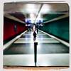 Wettersteinplatz 1 (Casey Hugelfink) Tags: munich münchen wettersteinplatz giesing ubahn ubahnstation subway subwaystation metro underground bahnsteig rot grün rotgrün red green redgreen