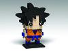 Goku, Dragon Ball Z BrickHeadz (headzsets) Tags: lego legobrickheadz brickheadz legomoc legomocs moc afol legophotography dragonball dragonballz dragonballsuper dragonballgt saiyan goku songoku supersaiyan dbz