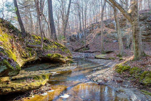 Hoosier National Forest - Potts Creek - Feb. 26, 2018