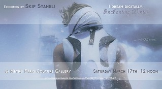 Poster Exhibition I dream digitally~Enchanting Winter